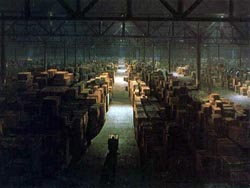 Raiders of the Lost Ark warehouse - QuickBooks inventory management