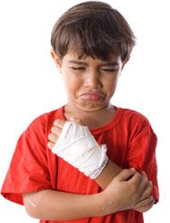Dislocated wrist child, Fishbowl Blog
