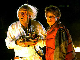 Back to the Future Doc Brown and Marty McFly, Inventory System Software Blog