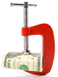 Money in a vice, Fishbowl Blog