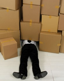 Employee crushed by boxes, Fishbowl Blog