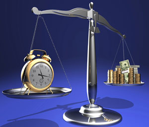 Time and money in scales, Fishbowl Blog