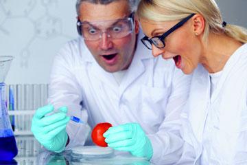 Surprised scientists, Fishbowl Blog