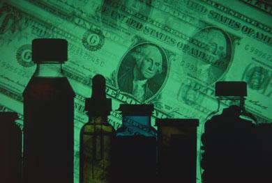 Medicine money, Fishbowl Blog