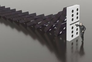 Stop falling dominoes, Fishbowl Blog