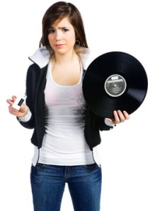 iPod versus record player, Fishbowl Blog