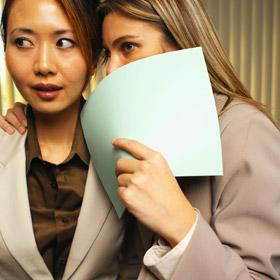 Businesswoman receiving advice,Fishbowl Blog