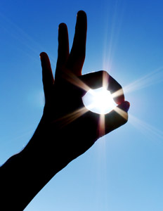 OK hand signal and sun, Inventory System Software Blog